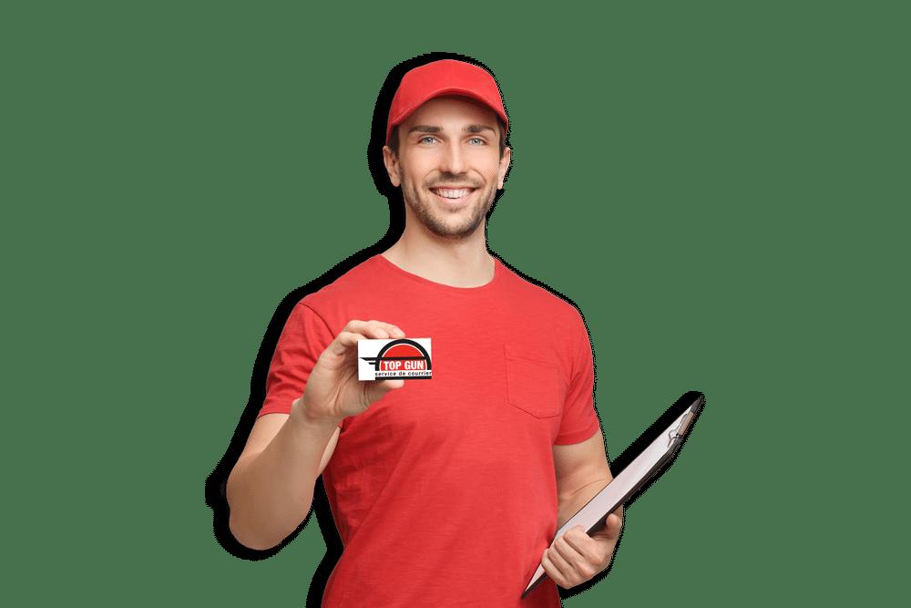 Livraison de courrier